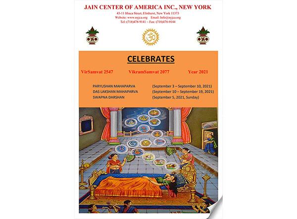 JCA NY 2021 Paryushan & Das Lakshana Maha Parv - Newsletter